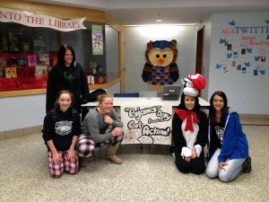 Kelly Adams MacNeill SIS Teacher PJ Fundraiser