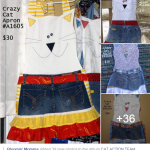 Crazy Cat Aprons